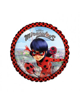 Palloncino in Mylar Lady Bug - 45 cm