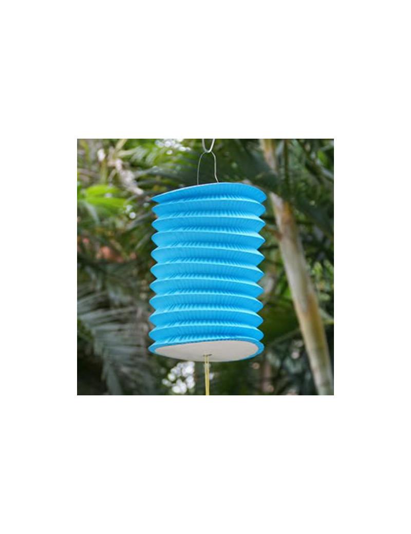 Lanterna in Carta Cilindrica (Blu)