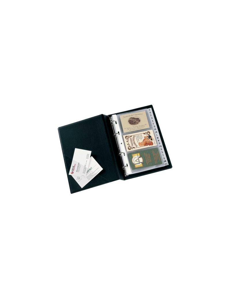 Portabiglietti da Visita Minivisita Sei Rota - 120 Biglietti - 57081710 (Nero)