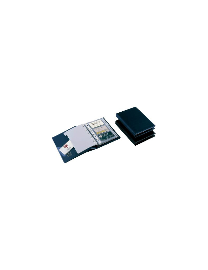 Portabiglietti da Visita Minivisita Sei Rota - 240 Biglietti - 57082507 (Blu)