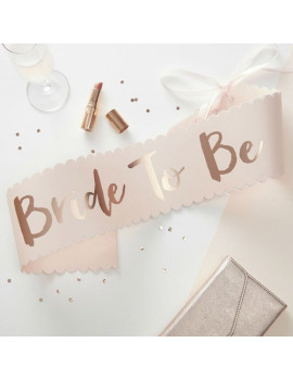 Fascia Rosa Bride To Be