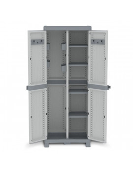 Armadio Porta Scope Terry Store Age - 70x43,8x181,8 cm - 1002565 (Grigio)