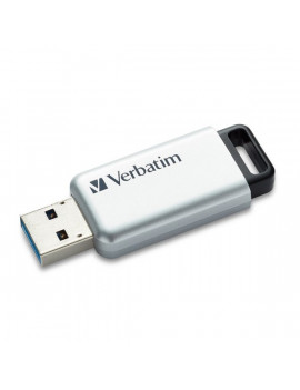 Pen Drive USB 3.0 Secure Data Pro Verbatim - 64GB - 98666 (Grigio)