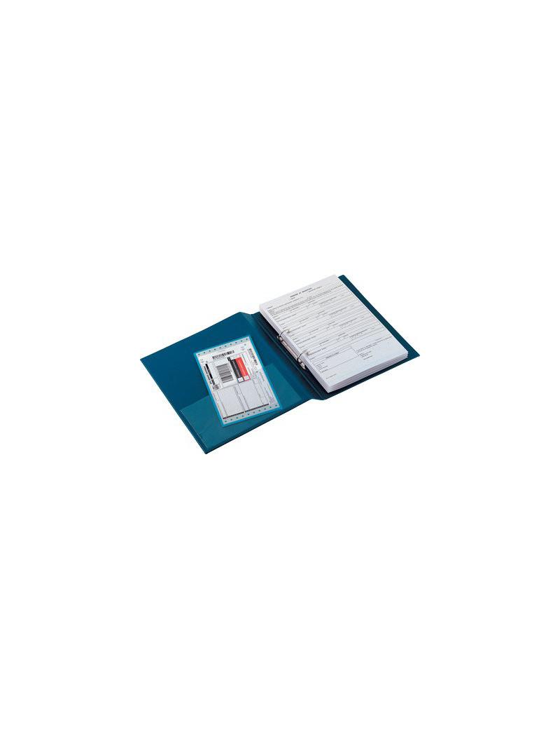 Raccoglitore San Remo 2000 Sei Rota - A4 - 2 Anelli a D Ø50 mm - Dorso 7,5 cm - 33508207 (Blu)