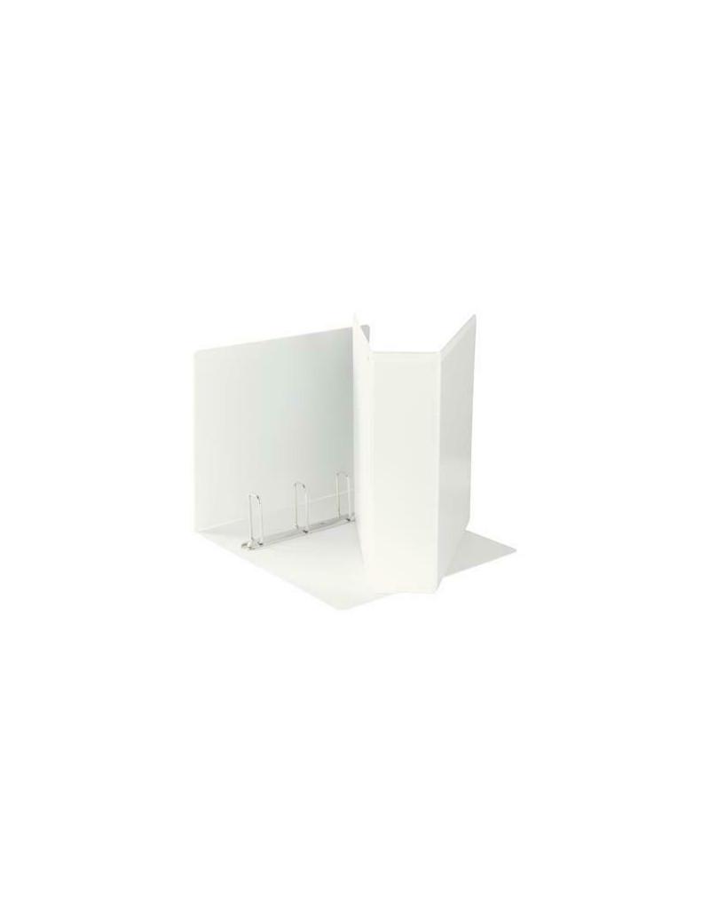 Raccoglitore Personalizzabile Display Maxi Esselte - 22x30 cm - 4 Anelli a Q Ø65 mm - Dorso 75 mm - 394758000 (Bianco)