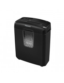 Distruggidocumenti a Frammenti 6C Fellowes - 4x35 mm - 4686601 (Nero)