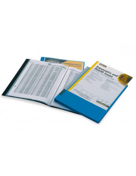 Portalistino Personalizzabile in PPL Fellowes - 22x30 cm - 20 Buste - 40325-NE (Nero)