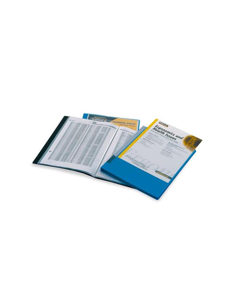 Portalistino Personalizzabile in PPL Fellowes - 22x30 cm - 20 Buste - 40325-NE (Nero)