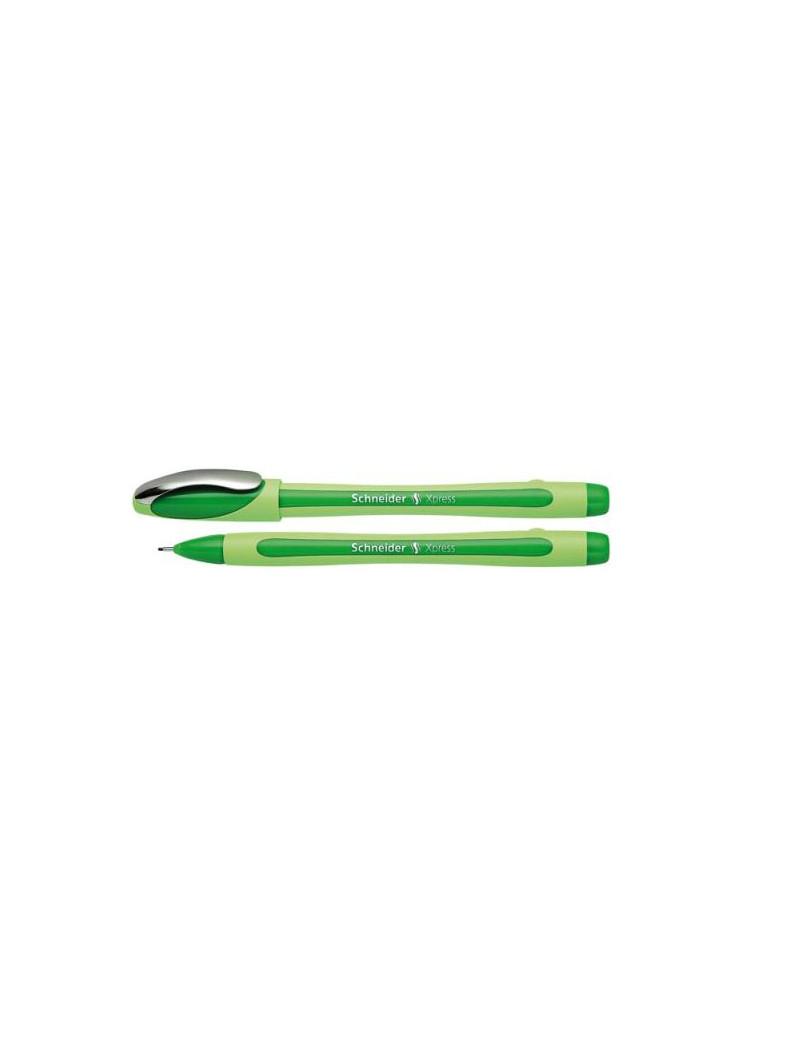 Fineliner Xpress Schneider - 0,8 mm - P190004 (Verde)