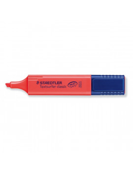 Evidenziatore Textsurfer Classic Staedtler - 1-5 mm - 364-2 (Rosso Conf. 10)