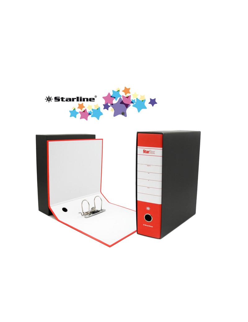 Registratore Starbox Starline - Commerciale - Dorso 8 - 28,5x31,5 cm (Rosso)