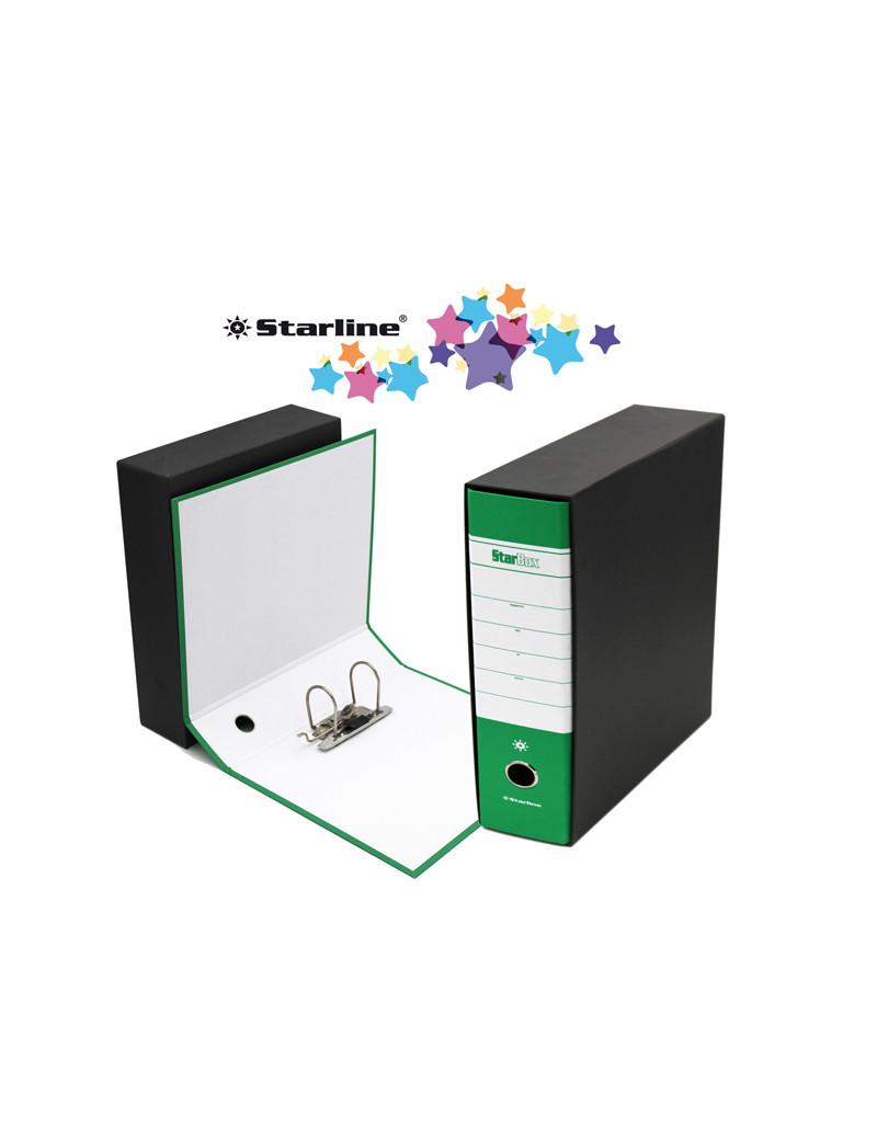 Registratore Starbox Starline - Commerciale - Dorso 8 - 28,5x31,5 cm (Verde)