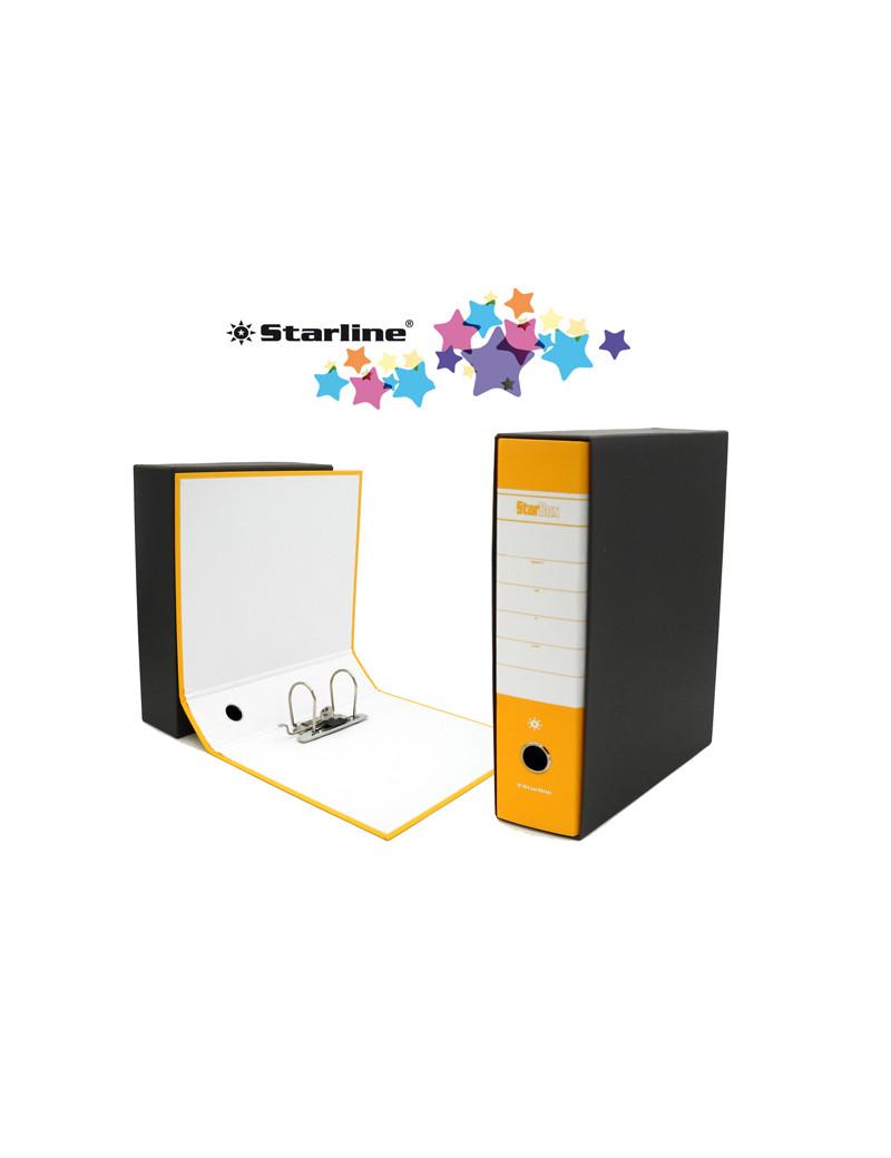 Registratore Starbox Starline - Commerciale - Dorso 8 - 28,5x31,5 cm (Giallo)