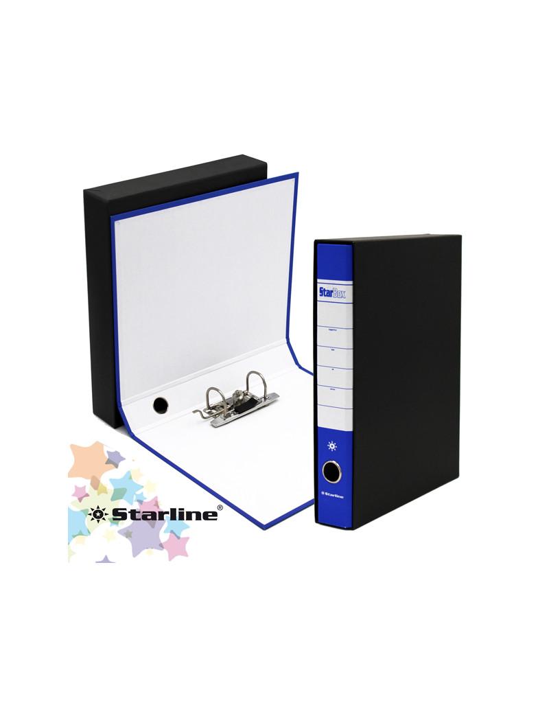 Registratore Starbox Starline - Protocollo - Dorso 5 - 28,5x31,5 cm (Blu)