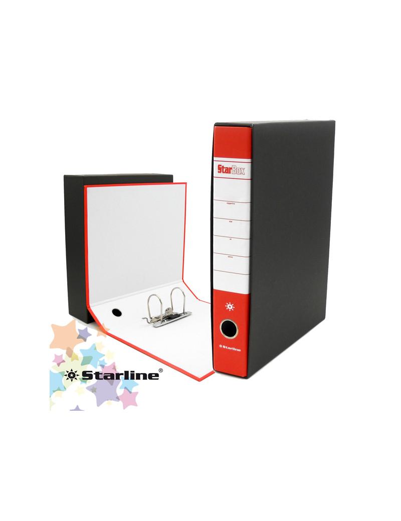 Registratore Starbox Starline - Protocollo - Dorso 5 - 28,5x31,5 cm (Rosso)