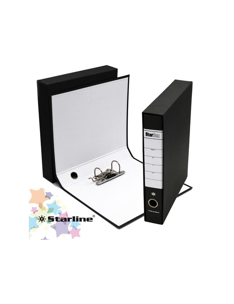 Registratore Starbox Starline - Protocollo - Dorso 5 - 28,5x31,5 cm (Nero)