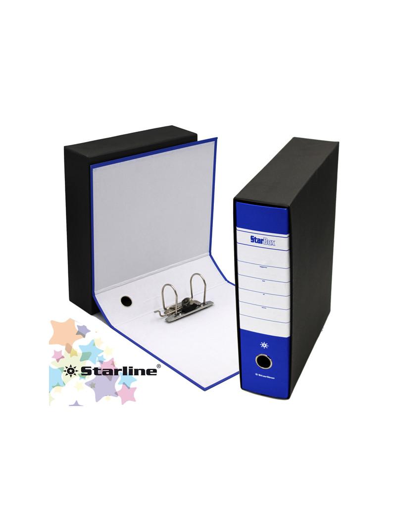 Registratore Starbox Starline - Protocollo - Dorso 8 - 28,5x35 cm (Blu)