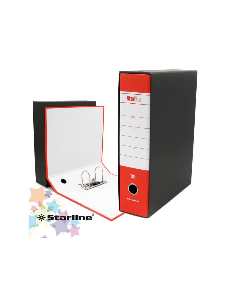 Registratore Starbox Starline - Protocollo - Dorso 8 - 28,5x35 cm (Rosso Conf. 12)