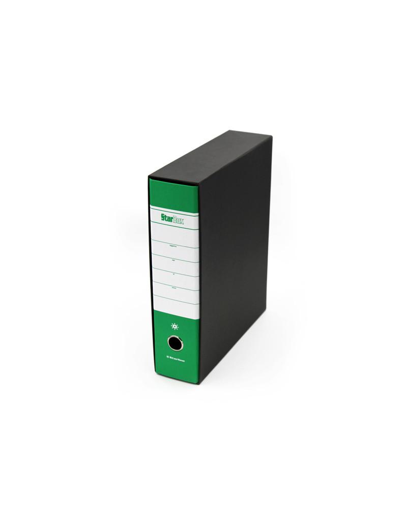 Registratore Starbox Starline - Protocollo - Dorso 8 - 28,5x35 cm (Verde)