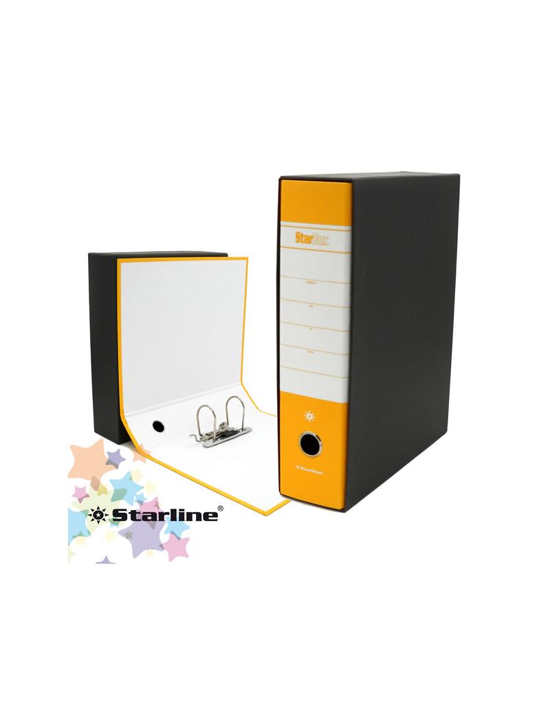 Registratore Starbox Starline - Protocollo - Dorso 8 - 28,5x35 cm (Giallo)