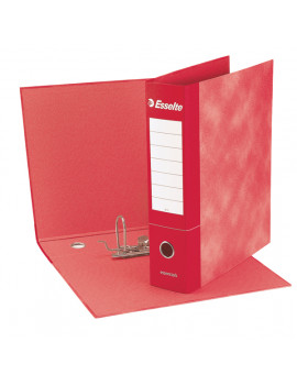 Registratore Essentials G72 Esselte - Commerciale - Dorso 5 - 23x30 cm - 390772160 (Rosso Conf. 8)