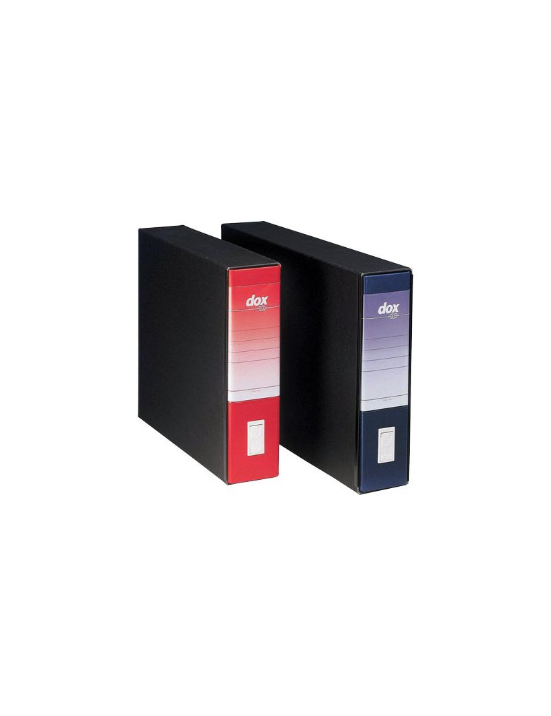 Registratore Dox 10 Rexel - Dorso 8 - 46x31,5 cm - 000213B1 (Rosso)