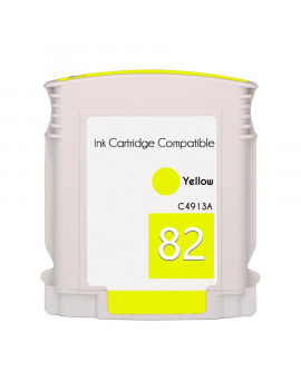 Cartuccia Compatibile HP C4913A 82 (Giallo 69 ml)