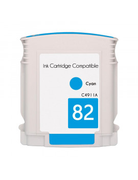 Cartuccia Compatibile HP C4911A 82 (Ciano 69 ml)