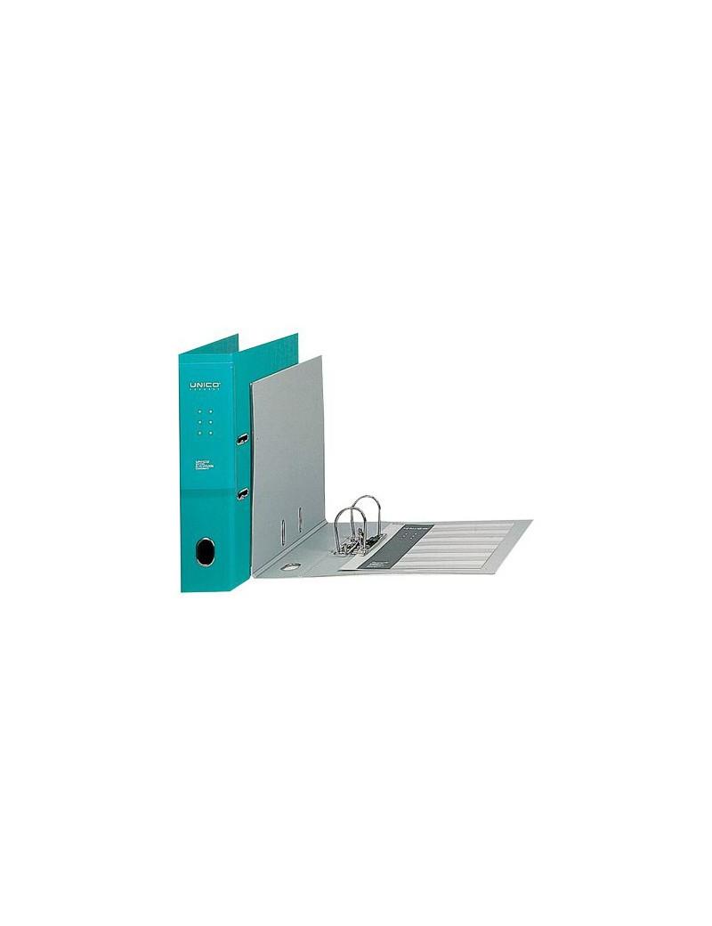 Registratore Legale Unico con Chiusura Favorit - Dorso 8 - 23x33 cm - 100460489 (Azzurro)