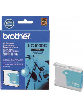Cartuccia Originale Brother LC-1000C (Ciano 400 pagine)