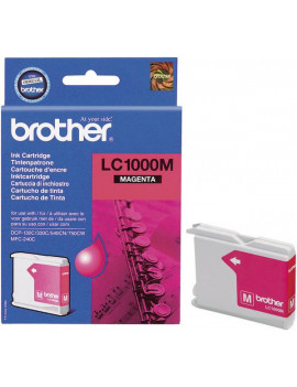 Cartuccia Originale Brother LC-1000M (Magenta 400 pagine)