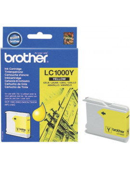 Cartuccia Originale Brother LC-1000Y (Giallo 400 pagine)