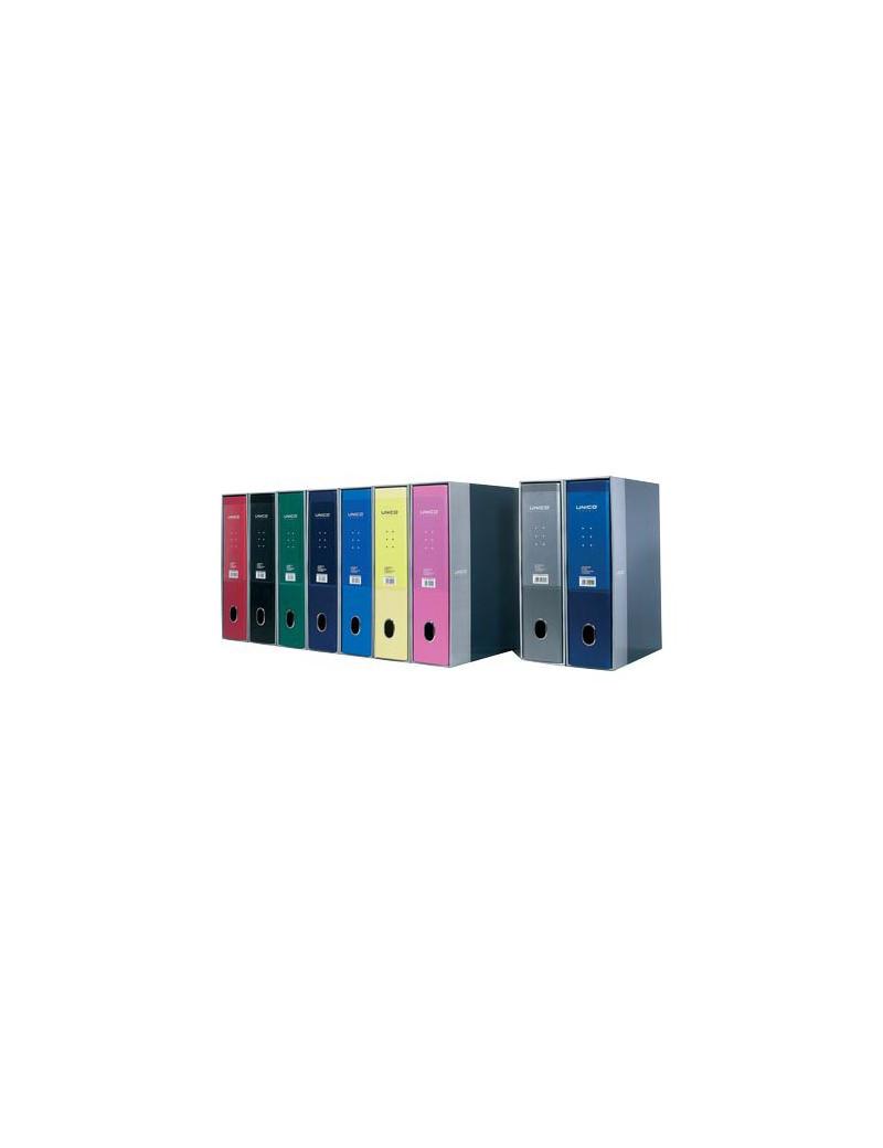 Registratore Legale Unico con Custodia Favorit - Dorso 8 - 23x33 cm - 100460529 (Blu Metallizzato)