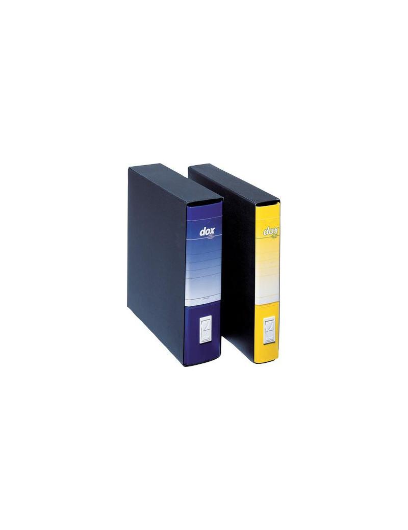 Registratore Dox 1 Rexel - con Custodia - Commerciale - Dorso 8 - 23x29,7 cm - D26106 (Giallo)