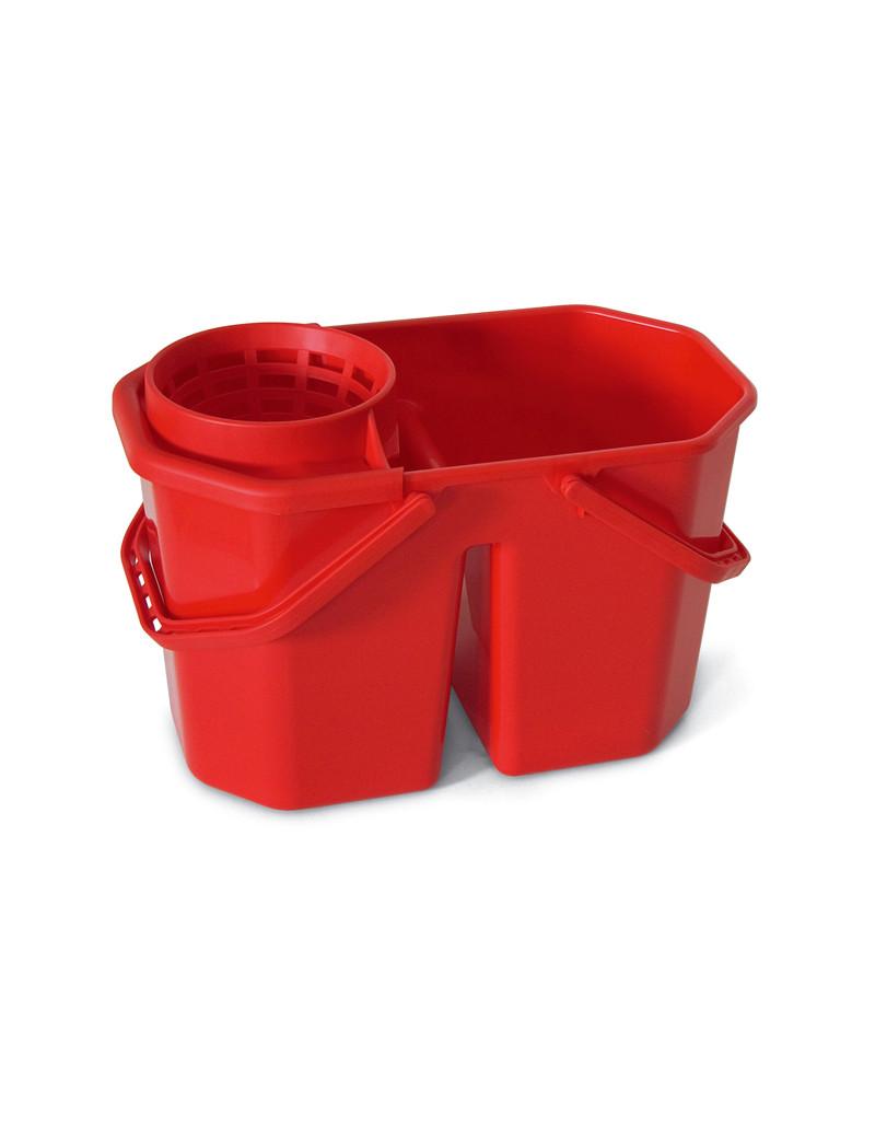 Secchio per Mocio In Factory - 15 Litri - 0469H (Rosso)