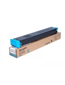 Toner Originale Sharp MX-36GT-CA (Ciano 15000 pagine)