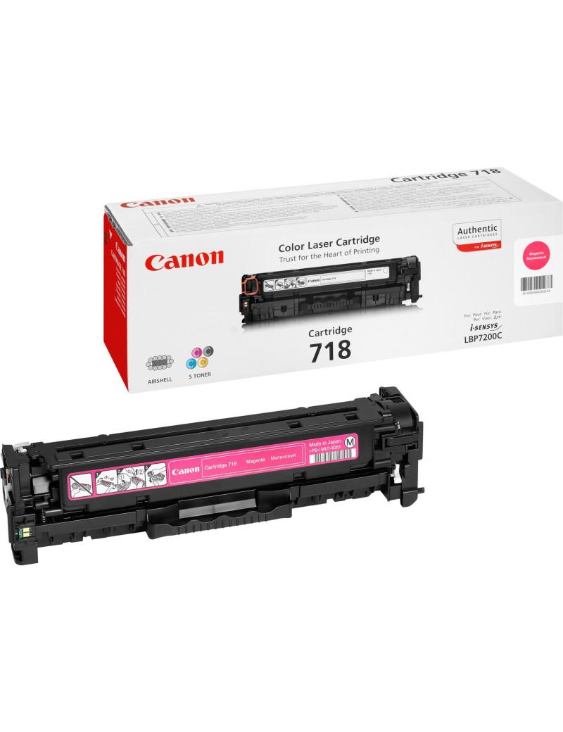 Toner Originale Canon 718m 2660B002 (Magenta 2900 pagine)