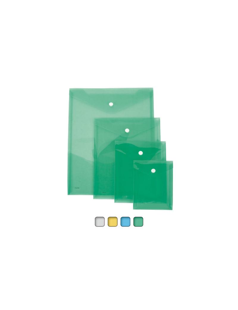 Busta con Bottone Lebez - A6 Verticale - 80199 (Assortiti Conf. 12)