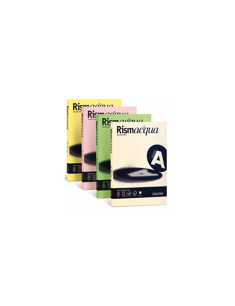 Carta Colorata Rismacqua Favini - A4 - 140 g - A65U204 (Ghiaccio Tenue Conf. 200)