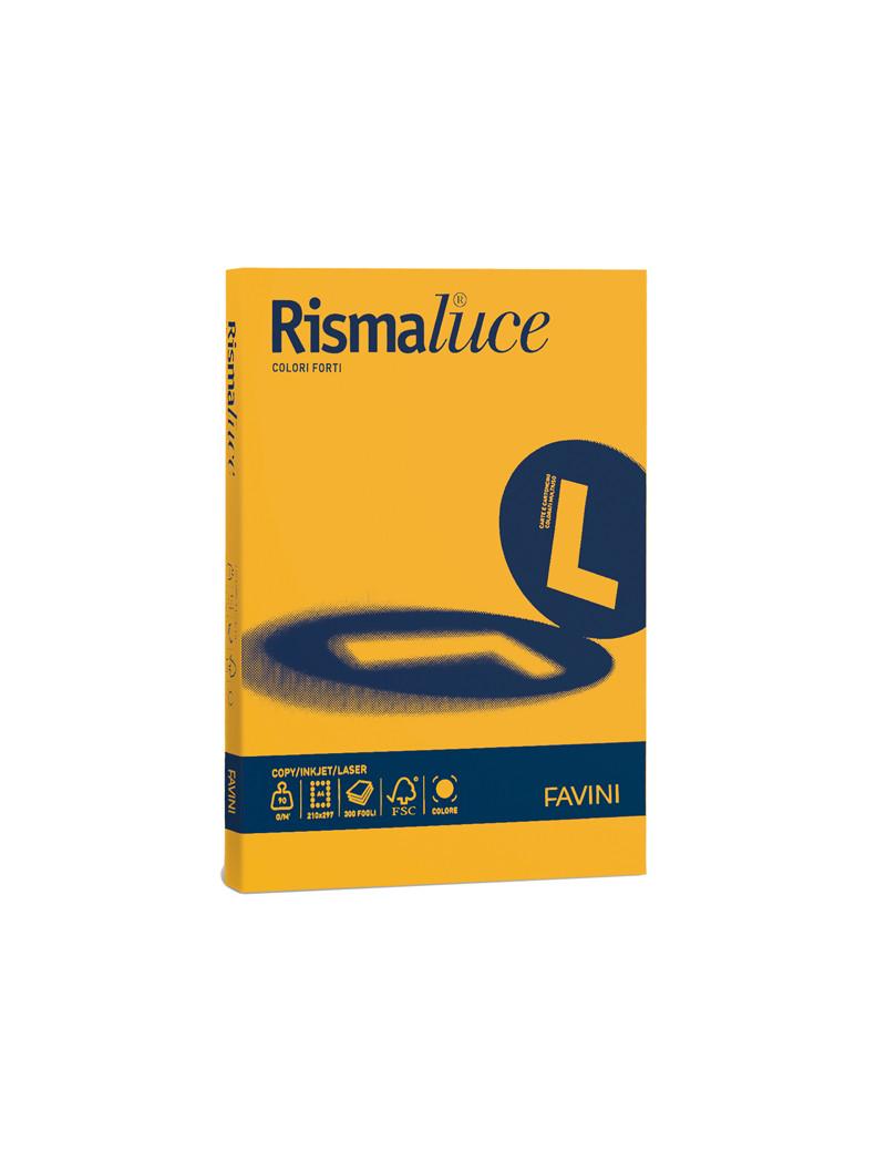 Carta Colorata Rismaluce Favini - A4 - 140 g - A65H204 (Giallo Oro Forte Conf. 200)