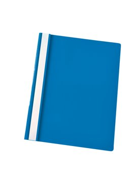 Cartellina in PPL con Pressino Fermafogli Report File Esselte - 21x29,7 cm - 28322 (Azzurro Conf. 25)