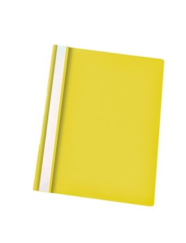 Cartellina in PPL con Pressino Fermafogli Report File Esselte - 21x29,7 cm - 28318 (Giallo Conf. 25)