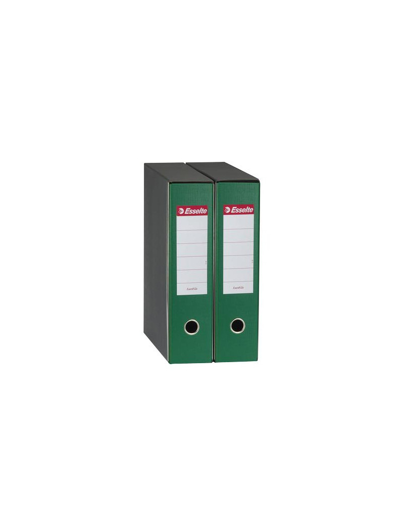 Registratore Eurofile Esselte - Commerciale - Dorso 5 - 23x30 cm - 390752180 (Verde)