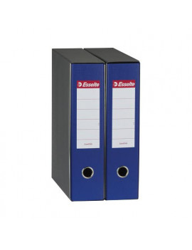 Registratore Eurofile Esselte - Commerciale - Dorso 8 - 23x30 cm - 390753050 (Blu)