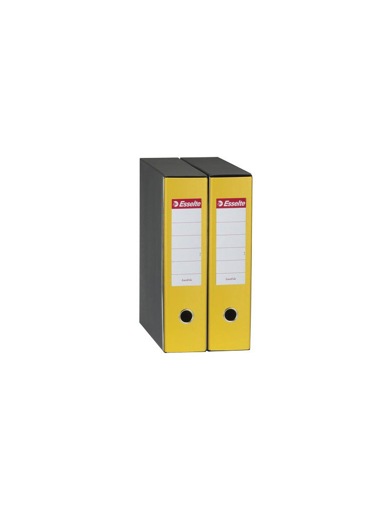 Registratore Eurofile Esselte - Commerciale - Dorso 8 - 23x30 cm - 390753090 (Giallo)
