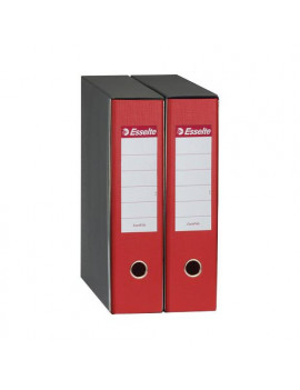 Registratore Eurofile Esselte - Commerciale - Dorso 8 - 23x30 cm - 390753160 (Rosso)