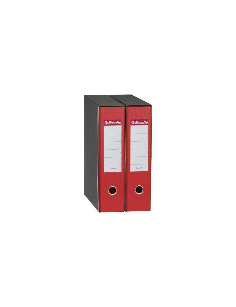 Registratore Eurofile Esselte - Commerciale - Dorso 8 - 23x30 cm - 390753160 (Rosso)
