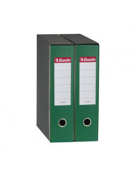 Registratore Eurofile Esselte - Commerciale - Dorso 8 - 23x30 cm - 390753180 (Verde)
