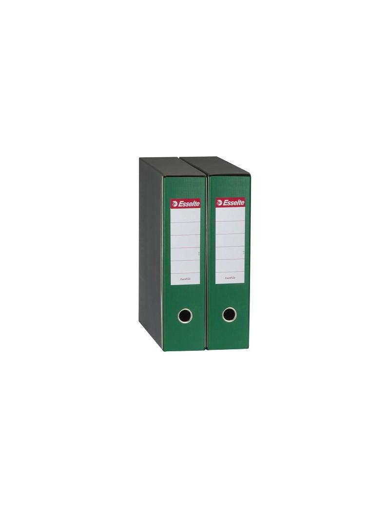 Registratore Eurofile Esselte - Commerciale - Dorso 8 - 23x30 cm - 390753180 (Verde)