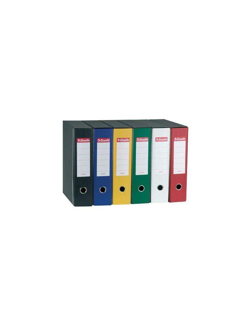 Registratore Eurofile Esselte - Protocollo - Dorso 8 - 23x33 cm - 390755180 (Verde)